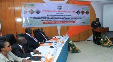 LE PPRC APPORTE SON APPUI AU CONSEIL NATIONAL D'EXPORTATION (CNE)